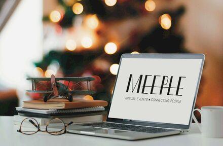Creatief virtueel toasten op het nieuwe jaar in onze virtual NY-eventvenue MEEPLE - Foto 1