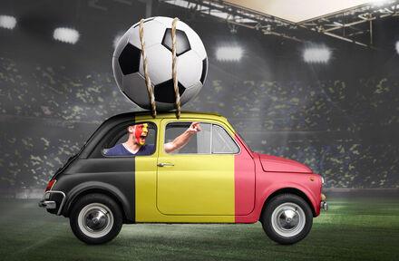 6x green screen tijdens EK voetbal - Foto 1
