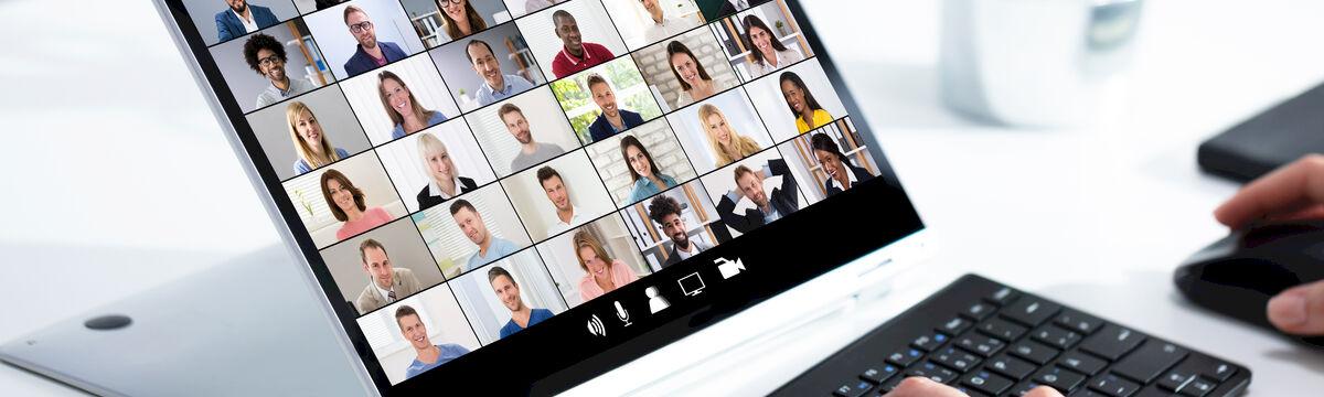 Plattform für virtuelle Veranstaltungen