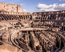 Das Kolosseum Rom erhält eine neue Etage und organisiert Veranstaltungen